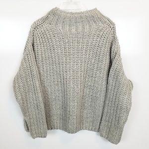 Medium Kendall & Kylie Cowl Neck Oversized Sweater
